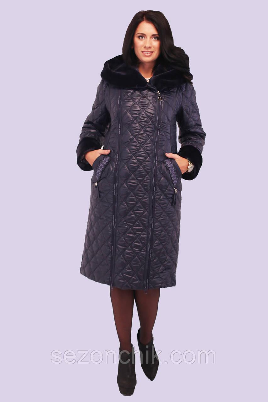 4178e126f22 Женское зимнее пальто Украина с мехом от производителя - Фабрика по пошиву  верхней детской одежды