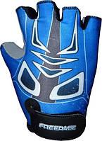 Велоперчатки детские Mike FC - 1005 Синий