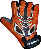 Велоперчатки детские Mike FC - 1005 Оранжевый