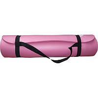 Коврик гимнастический POWER SYSTEM PS - 4017 FITNESS-YOGA MAT Розовый