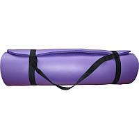 Коврик гимнастический POWER SYSTEM PS - 4017 FITNESS-YOGA MAT Фиолетовый