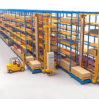 Автоматизированные склады стеллажного типа