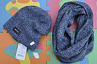 Модная зимняя шапочка и шарф-хомут Agbo (Польша).