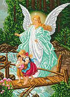 """Схема для вишивки бісером """" Ангел хоронитель"""