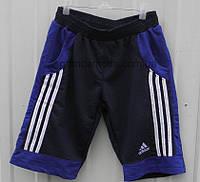 Шорты трикотажные Adidas мужские 42-50р синие
