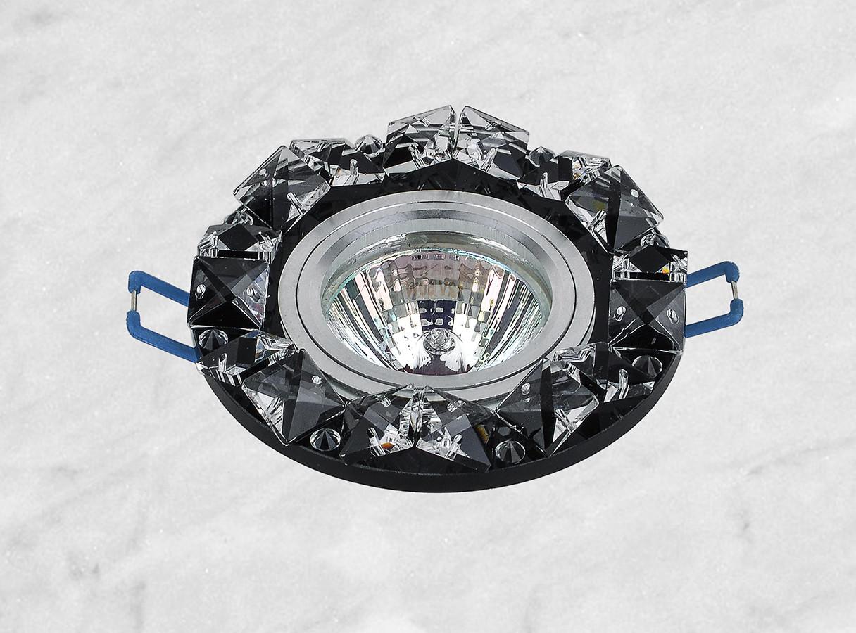 Точечный стеклянный врезной светильник (16-148)