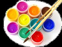 Гуашевые краски ( Гуашь )