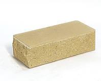 Кирпич ФАГОТ тычковый с фаской мраморный желтый МР ПП Т 100