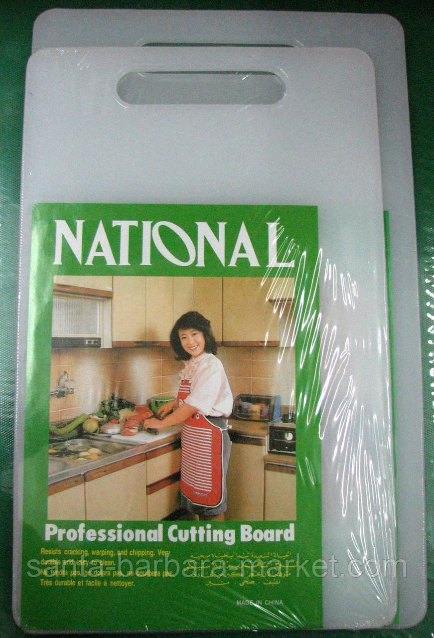 """Доска """"National"""" пластик 40,5х22,5см 0,8см №10494"""