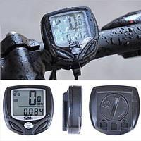 Беспроводной велосипедный спидометр  c LED дисплеем (велоакссесуары для велосипеда)