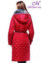 Теплое женское зимнее пальто Сесилия, фото 3