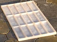 Силиконовая форма для изготовления гипсовой плитки под Средневековый кирпич