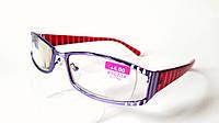 Очки диоптрийные, корригируют зрение +4.0,  женские