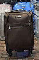 Малый коричневый чемодан Leaves King