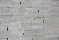 """Камень Сланец """"Белые пески"""" KLVIV торцованная кладка 4 см. 0.5 м.кв"""