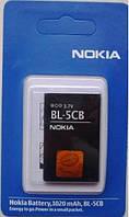 Аккумулятор NOKIA BL-5CB, original