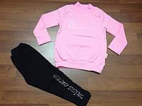 Комплект для девочек нарядный туника и лосины р. 98-116 оптом, фото 1
