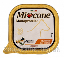 Вологий корм для собак Morando МіоСапе (Морандо Миокане) Monoproteico only Chicken з куркою, 300 г