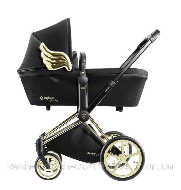 Детская универсальная коляска Cybex Priam 2в1 Wings by Jeremy Scott, фото 3