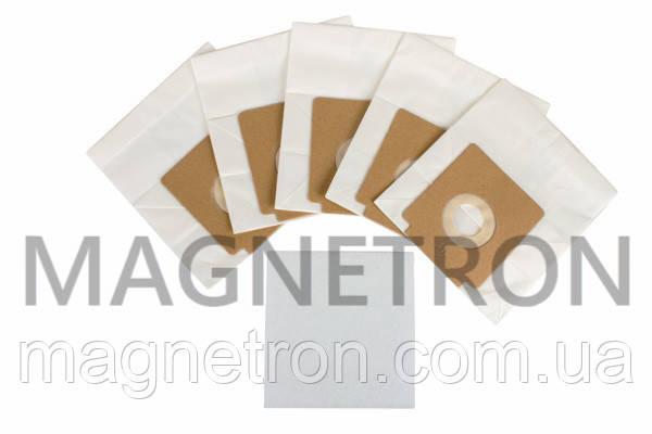 Комплект бумажных мешков (5шт) + фильтр мотора для пылесосов Gorenje 431821, фото 2