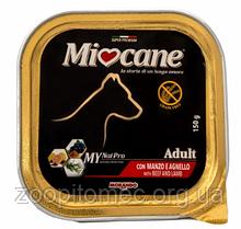 Вологий корм для собак Morando MioCane (Морандо Миокане) Adult Veal with and Lamb з яловичиною та ягням, 150 г