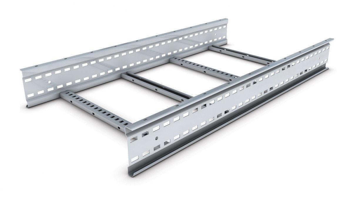 Кабельрост 100х400 (лоток лестничный, лоток лестничного типа) ДКС
