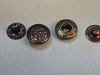 Кнопка 12.5 мм цвет антик 720 штук