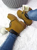 Зимние женские ботинки 39