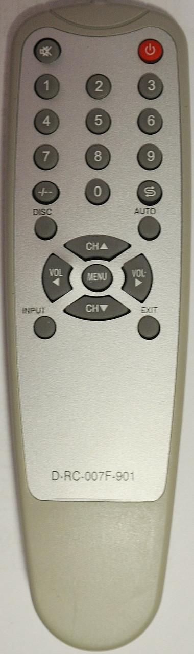 Пульт на телевизор  ORION. Модель D-RC-007F