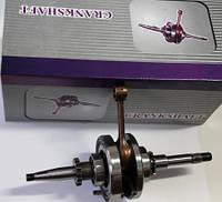 Коленвал скутер GY6-80 высота шатуна +2mm