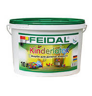 Акриловая краска для детских комнат Feidal Kinderlatex 5л