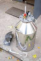 Автоклав электрический, огневой 40л (30 банок 0,5л). На болтах.