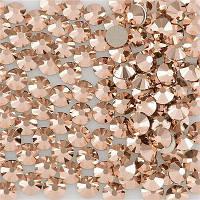 Swarovski 2038 SS 34 Crystal Rose Gold S-F HotFix