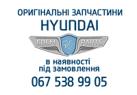 Молдинг решітки радіатора лівий  ( HYUNDAI ),  Mobis,  863531R500 http://hmchyundai.com.ua/