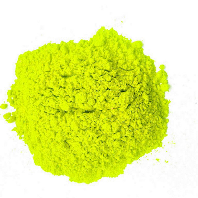 Желто-лимонная краска холи