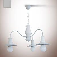 Люстра из дерева 3 ламповая для кухни, спальни, кафе, ресторанов,  18703