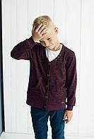 Модная детская трикотажная кофта для мальчика