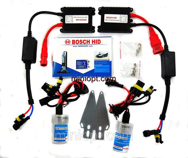 Комплект ксенонового света BOSCH HID 6000K (H3) 35W