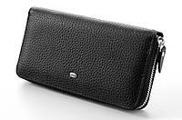Мужской кожаный клатч кошелек портмоне на молнии ST натуральная кожа