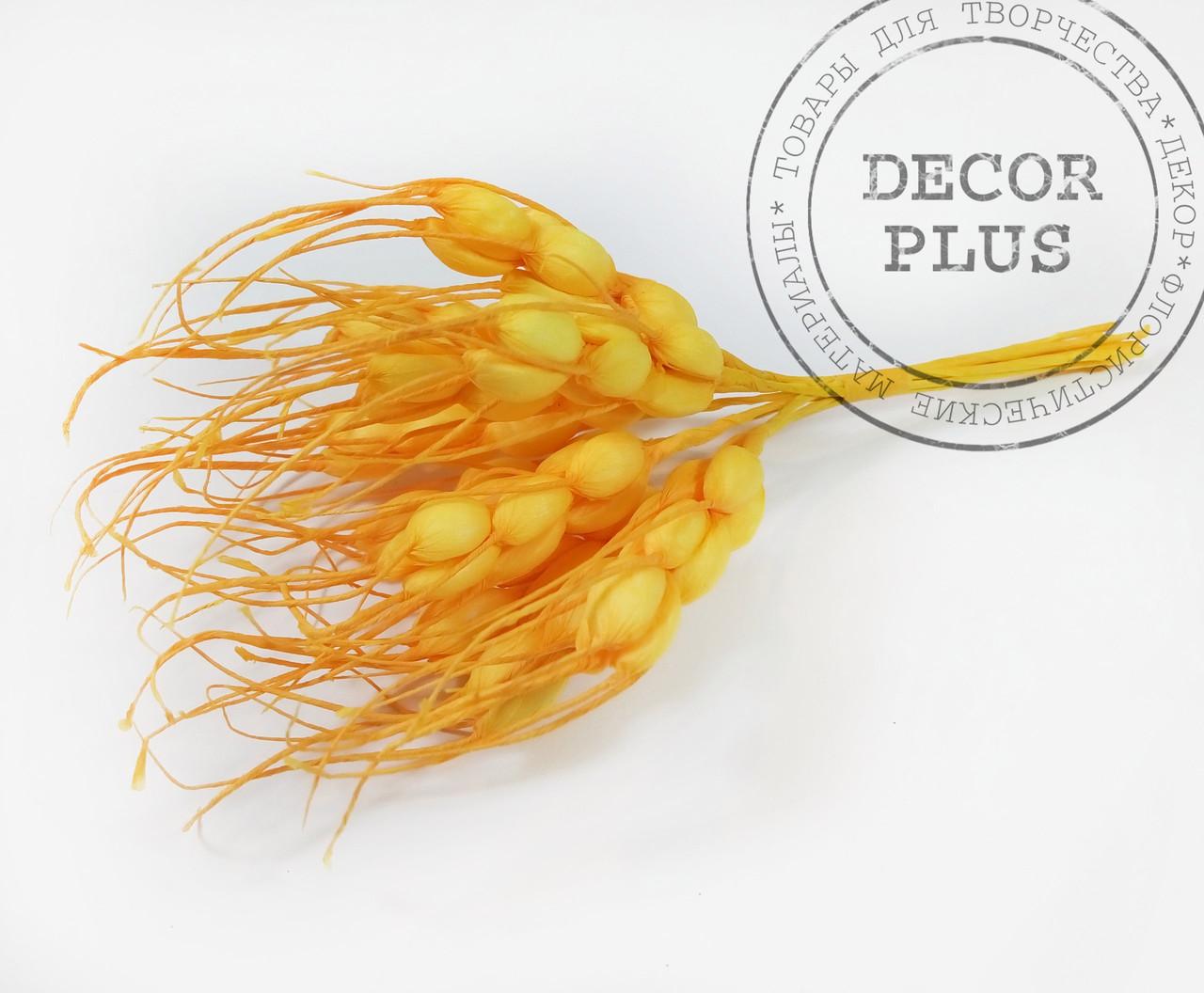 Колосок пшеницы, желтый