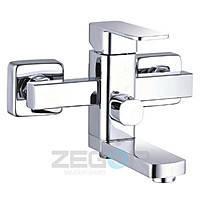 Смеситель для ванны короткий гусак, Z65-LEB3 ZEGOR (TROYA)