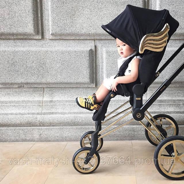 Детская прогулочная коляска Cybex Priam Wings by Jeremy Scott, фото 6