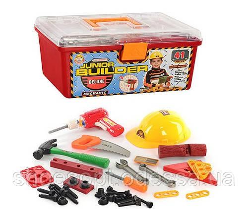 """Детский набор инструментов в чемодане 41 предмет, дрель на батарейках - Интернет-магазин """"ShoesOpt"""" в Одессе"""