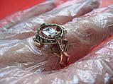 Кольцо ЗОЛОТО 585 пробы 20.5 размер 6.27 грамма, фото 6