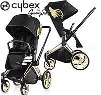 Детская прогулочная коляска Cybex Priam Wings by Jeremy Scott