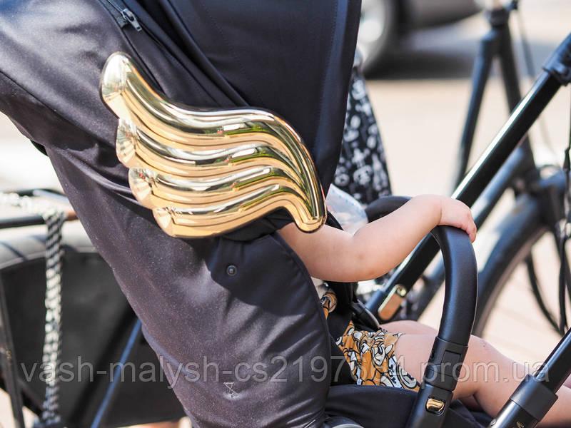 Детская прогулочная коляска Cybex Priam Wings by Jeremy Scott, фото 7