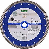 Круг алмазный Distar Turbo Super TP40H 232 мм отрезной диск по железобетону и тяжелому бетону