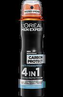 L'Oreal Men Expert Дезодорант-антиперспірант чоловічий Carbon Protect 150мл.