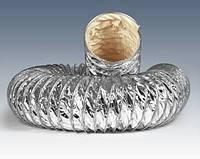 Шланг вентиляционный КЛИН стекловолокно (алюмизированный)