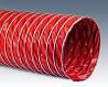 Шланг для вентиляции типа КЛИН, силикон (красный)